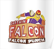 Captain Falcon - Falcon Punch Poster