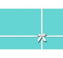 Blue Tiffany Ribbons - No Logo by Everett Day