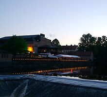 Uppsala, white nights by bluecoomassie