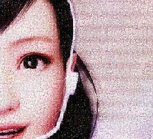 Haruka Sawamura - Mosaic by Deekman