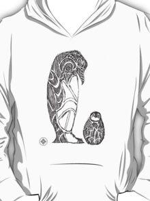 emperor penguin sketch T-Shirt