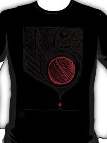 volcano sketch T-Shirt