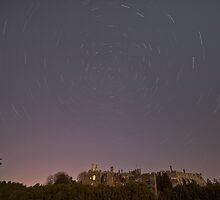 Berkeley Castle by Night by James Hann