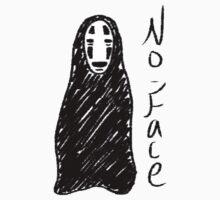 Spirited Away's No Face/Koanashi by RainbowUnicorns