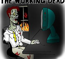 The Working Dead Coffee Mug by LonewolfDesigns