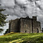 weobley castle by zacco