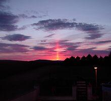 Strange sky over Grainan  by mikequigley