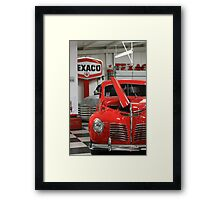 Red Hot Ride Framed Print