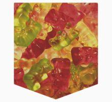 Gummy Bear Pocket Tee by ignorantclothes