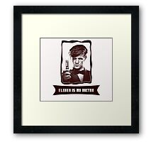 Eleven is my Doctor Framed Print
