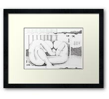 Wherever you go, I will go... (Ruth 1:16) Framed Print