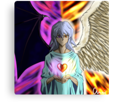 Ryou Bakura Change of Heart Canvas Print