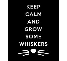 GROW SOME WHISKERS IV Photographic Print