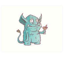 Drunk Goblin Art Print