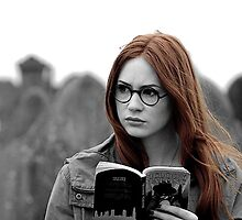 Amy Pond Book by Maninthefez