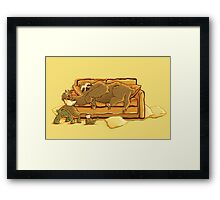 Slow Party Framed Print