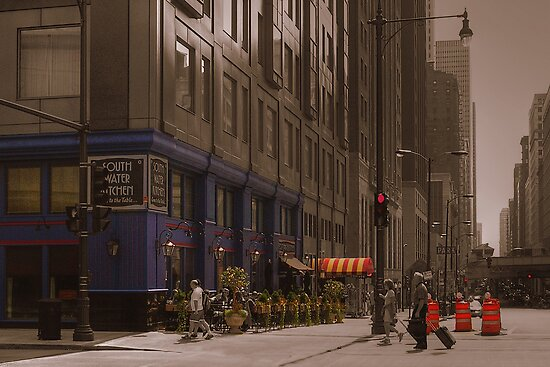North Wabash Avenue/Wacker - Chicago by Karen Martin IPA