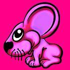 Pink Cartoon Mouse  by Sookiesooker