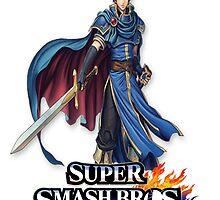 Super Smash Bros. 3DS/Wii U Marth T-Shirt by KwanChau