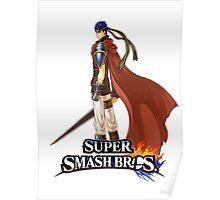 Super Smash Bros. 3DS/Wii U Ike Poster