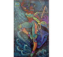 trinity the sea goddess Photographic Print