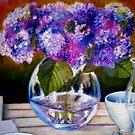 """From my Garden - Oil Painting by Belinda """"BillyLee"""" NYE (Printmaker)"""
