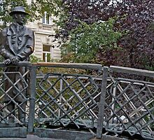 The Man On The Bridge by phil decocco