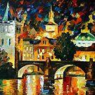 Prague — Buy Now Link - www.etsy.com/listing/217901186 by Leonid  Afremov