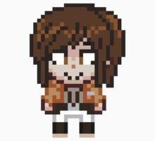Attack on Titan - Sasha Braus Pixel Sprite - Chibi by geekmythology