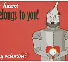 Tin Man - Wizard of Oz Valentine by Jesse Armine
