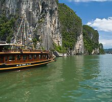Ha Long Bay by Matthew Stewart