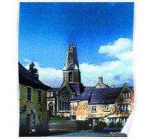 Church In Minchinhampton Poster