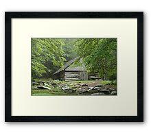 Noah Ogle's Barn II Framed Print