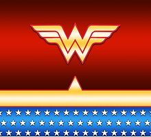 Wonder Woman Uniform by smushes