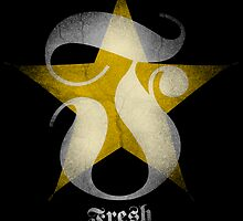 FRESH INK STAR - GRUNGE by webart
