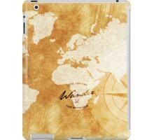 Wander the World  iPad Case/Skin