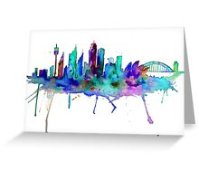 The Greatest City in the World Greeting Card