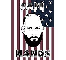 Tim Howard Safe Hands Flag Photographic Print