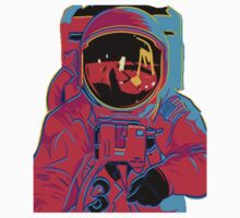 psychedelic astronaught  by Joey Cussen