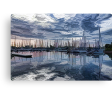 Sailboat Summer Impressions Canvas Print