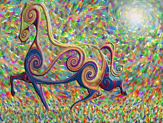 spirit of the horse by Matthew Scotland