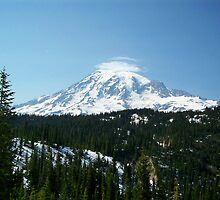 Mt. Rainier by Valerie