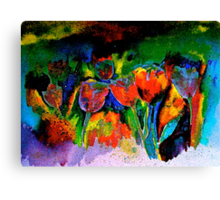 Tulip Symphony Canvas Print