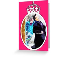 Join the race. Doctor Who, Sherlock, Harry Potter Greeting Card