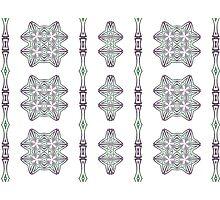 Art nouveau - pattern I by Martilena