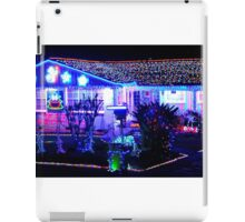 Christmas Lights and Music Combo iPad Case/Skin