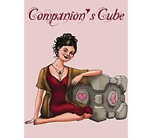Companion's Cube Photographic Print