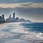 Surfers Paradise Skyline by RhondaR