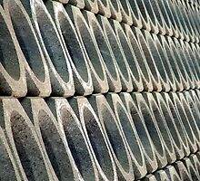 Ad Infinitum - Sea defences, Bangor, County Down.  by Stephen Maxwell