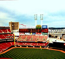 Cincinnati Reds Stadium by Maria Hall